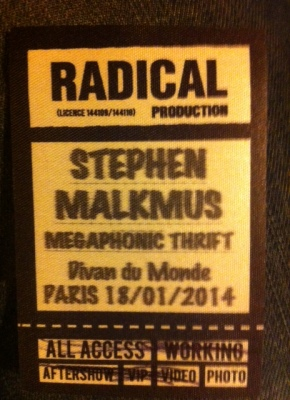 STEPHEN MALKMUS & THE JICKS Divan du Monde(18/01/14)