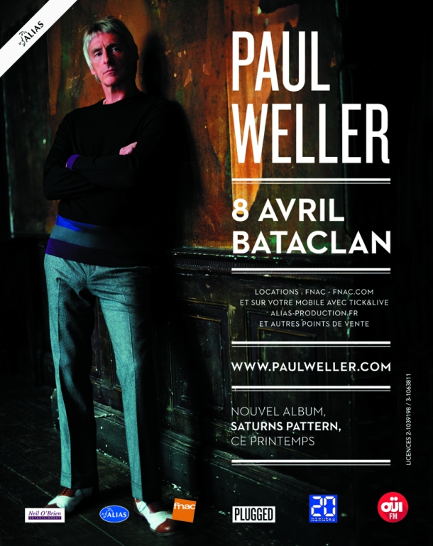 Paul Weller Paris