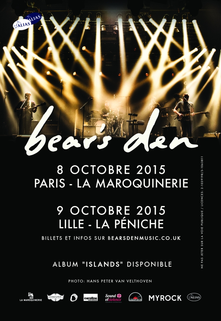 Flyer Bear's Den Paris et Lille (1)