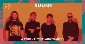 Concours : SUUNS à l'Elysée Montmartre(terminé)